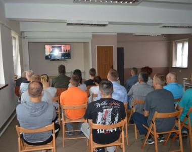 """Prezentacja filmu """"Wykluczeni"""" Zakład Karny Kraków"""